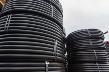 roll hdpe pipe for electrical cable duct
