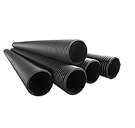 HDPE double wall corrugated culvert pipe for drainage sewerage