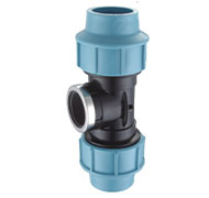 PP COMPRESSION FITTING-female tee190x180