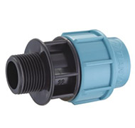 PP COMPRESSION FITTING-male adaptor198x180