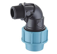 PP COMPRESSION FITTING-male elbow190x180