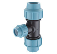 PP COMPRESSION FITTING-reducing tee190x180