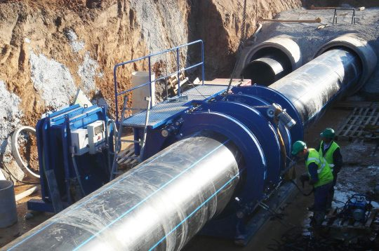 Large Diameter sewerage PE100 HDPE pipe waste water